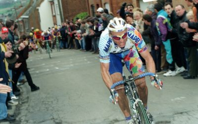 Il Campione del Mondo Johan Museeuw alla Milano Sanremo del 9 Giugno!